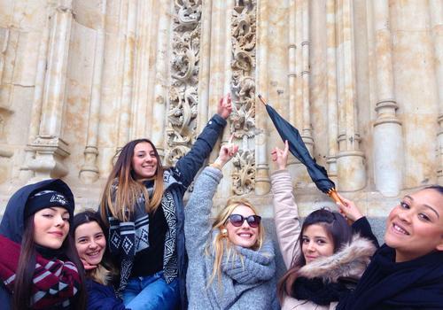 Exploring the city of Salamanca
