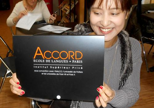 All ACCORD students receive a nice welcome package.