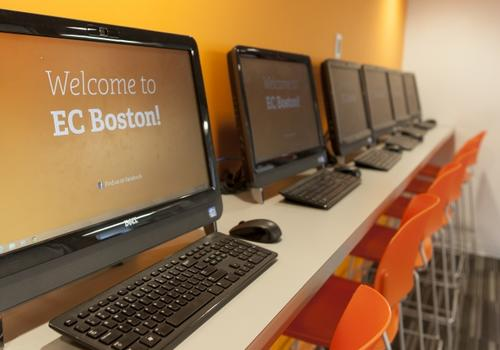 EC Boston computer room