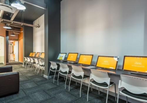 EC Cape Town Computer Lounge