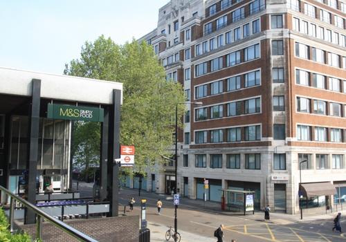 EC London Facade