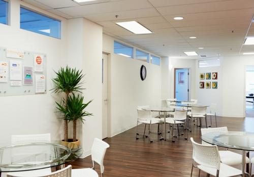 EC Vancouver student lounge