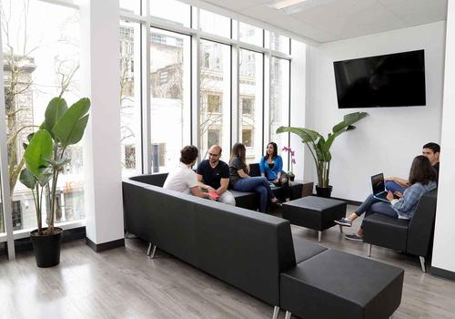 VGC Granville Street Campus Student Lounge