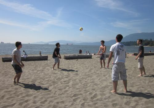iTTTi Vancouver Beach Volleyball Activity