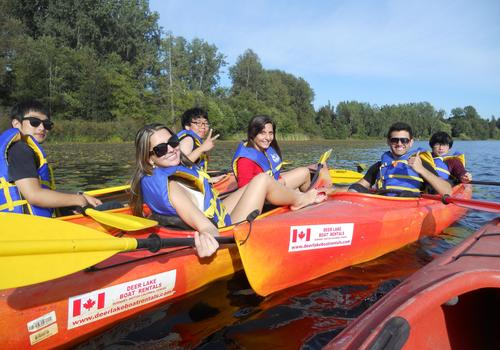 iTTTi Vancouver Kayaking Activity