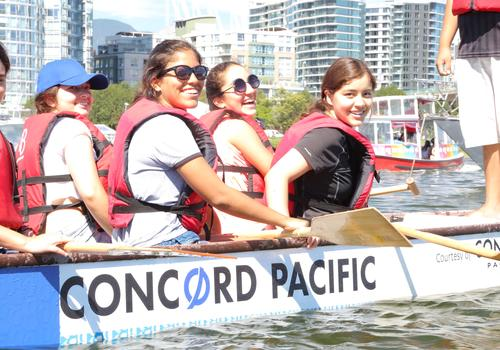 Dragonboating in Vancouver